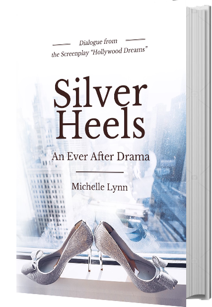 Silver Heels book cover on a book image