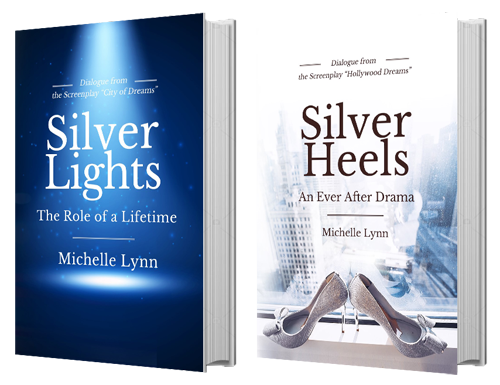 Silver Lights Book Series, Book 1 and 2 covers