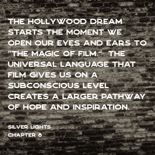 Quote from the Silver Lights Book